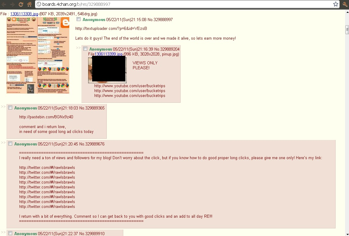 4chan Blogspot. Mega UBER GUIDE. Monumental fraud against ADSENSE by